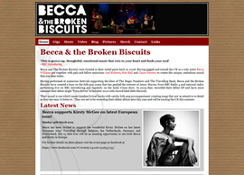 Becca and the Broken Biscuits